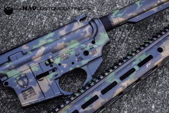 MAD Grunge Camo on a Spike's AR15