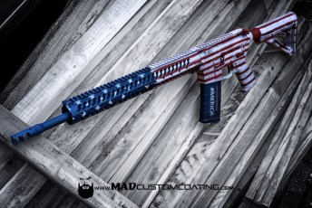 War Torn America Theme on an FN AR15