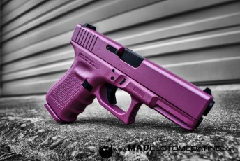 Pink Pearl on a Glock 19