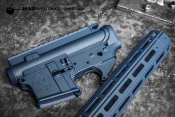 Blue Titanium Cerakote AR set