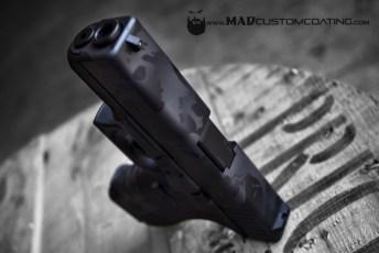 Skull Camo on a Glock 19