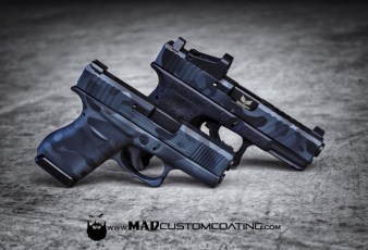 MADLand Camo on a pair of Glocks