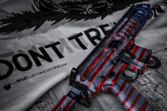 War Torn Flag on a Sig MPX