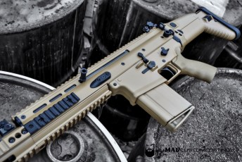 Mud Brown Cerakote FN SCAR