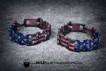 Leatherman Tread in War Torn American Flag