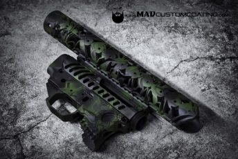 MAD Dragon Camo in Bazooka Green, MAD Black & Sniper Grey