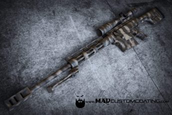 MAD Edge Camo on a Bushmaster BA50