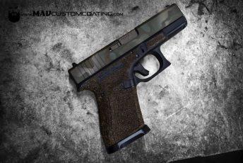 MADLand Camo Glock slide