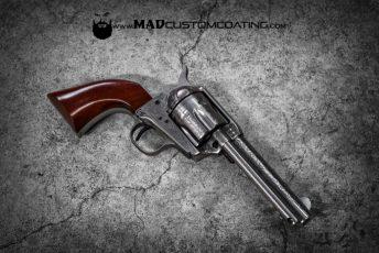 Cerakote Clear Coat Uberti Revolver