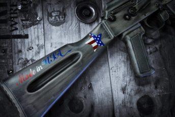 War Torn Brownells Made in USA AK47
