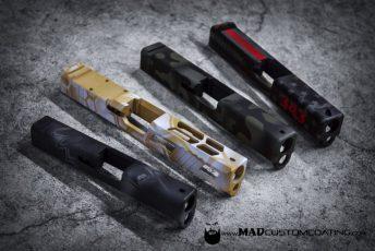 Glock Slides in Various Patterns