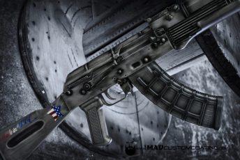 War Torn Steel Grey AK47