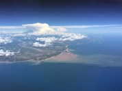 Just approaching Madagascar