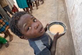 Snack-time: nutritional, high energy porridge