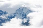 Gaurishankar in the clouds. I think.