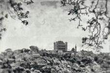 An older postcard feel of the Rova.