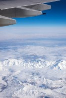 More snowy views over Iran.