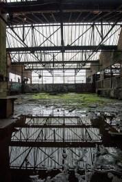 Flooded workshops