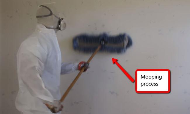 best way to clean drywall dust