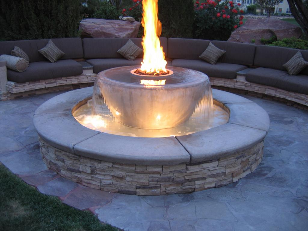 What are the different types of outdoor fire pits ... on Fireplace In Yard id=43631