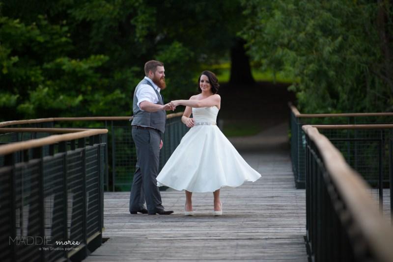 Bride Twirl