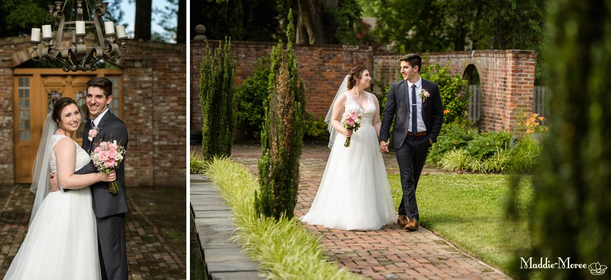 couples portraits after ceremony