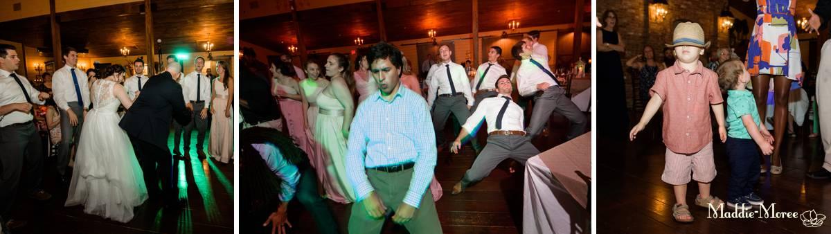 Cedar Hall Dancing reception