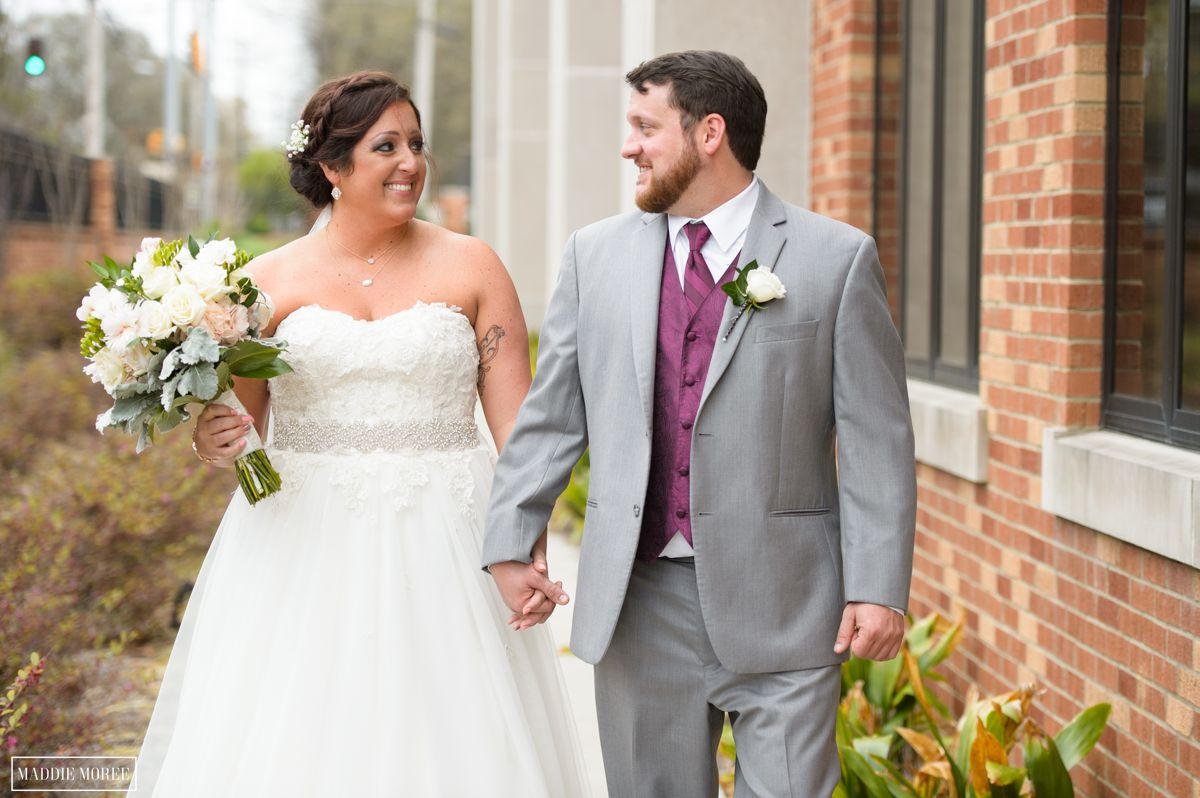 st louis catholic church wedding bride groom