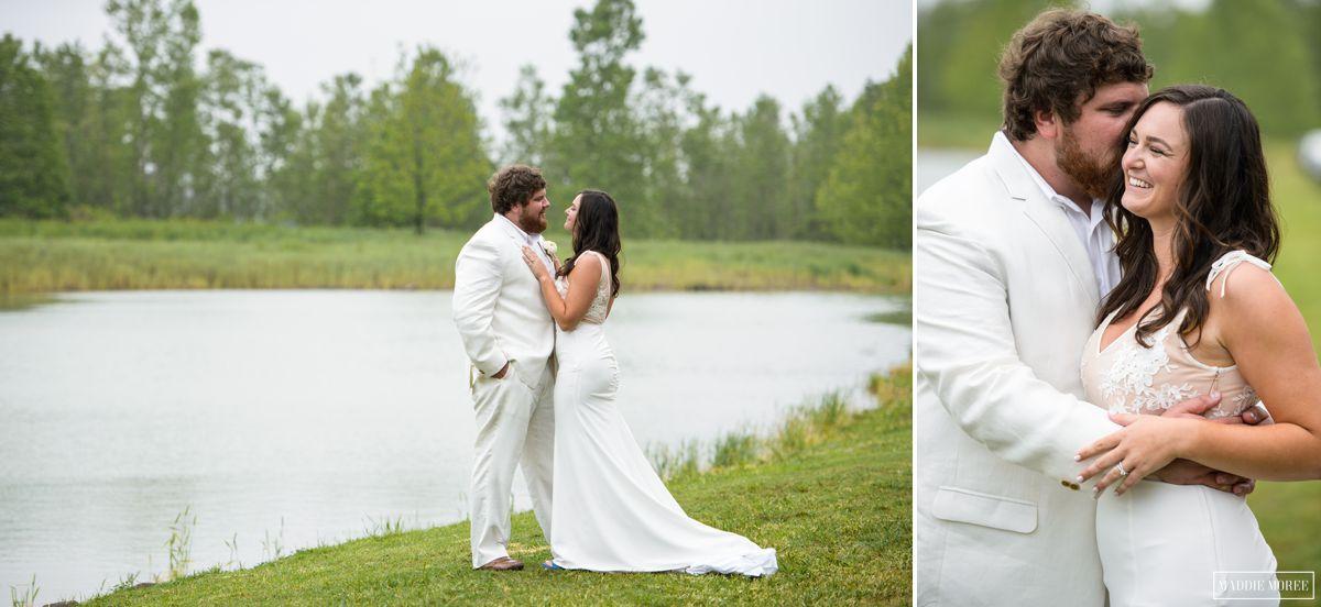 Morgan and Zack Lake wedding photography 14
