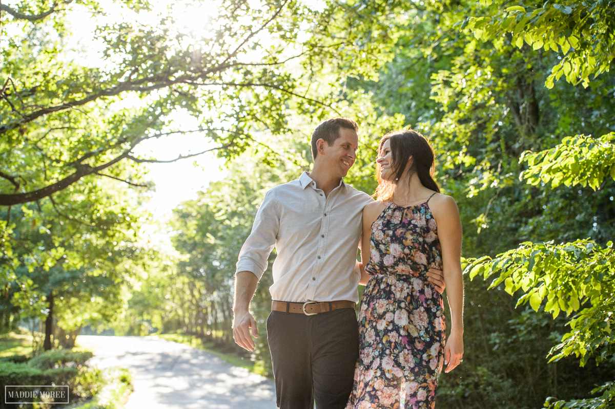 rustic style engagement photography