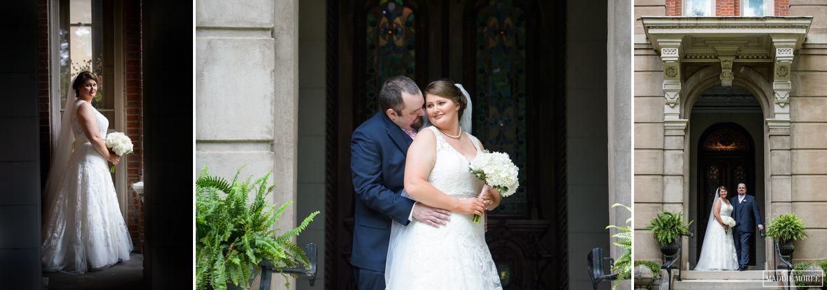 bride and groom portraits maddie moree