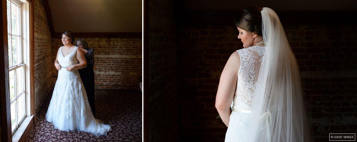Woodruff Fontaine house bridal portrait photography