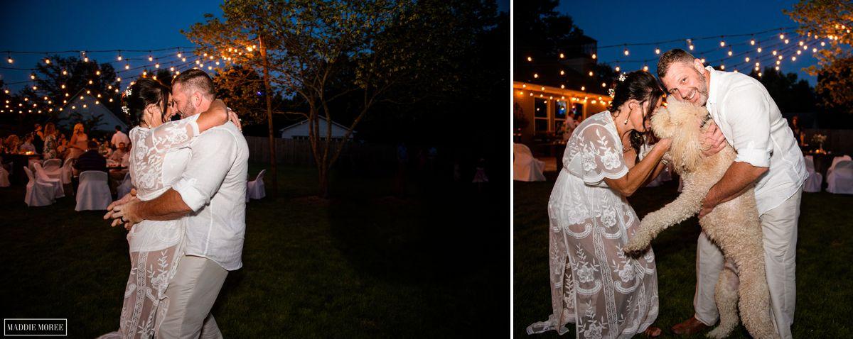 bride groom night portraits