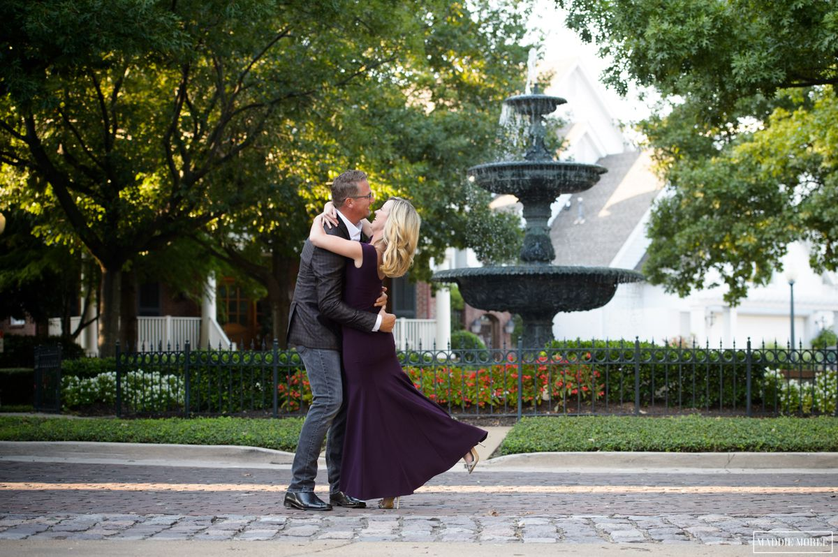 New york style garden engagement