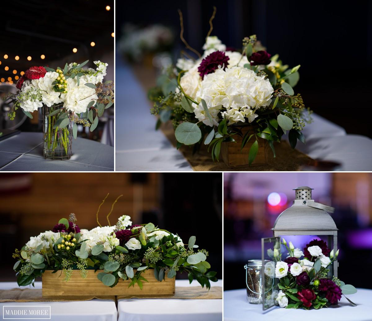 wedding details hollidays flowers