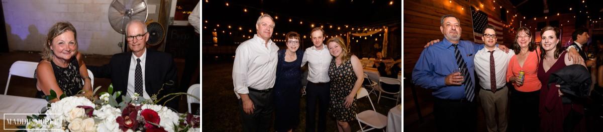 wedding guests loflin
