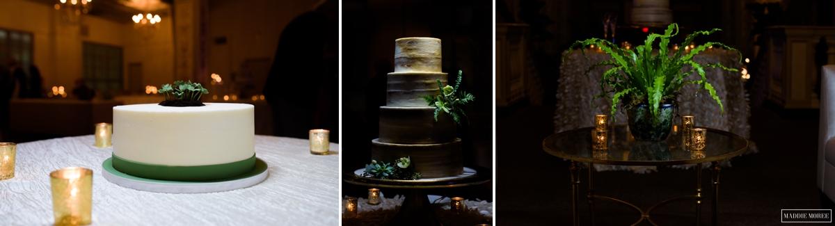 flour garden cake and deedra stone arrangements