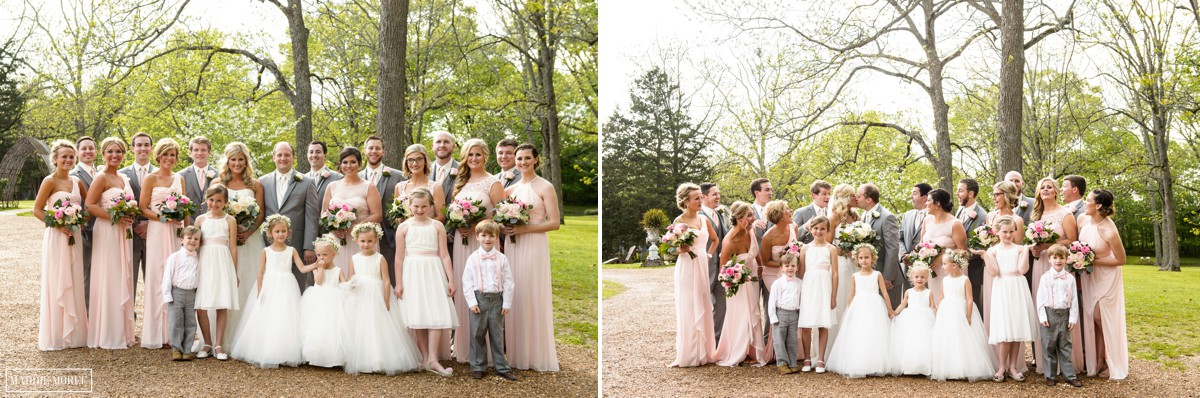 heartwood hall wedding party