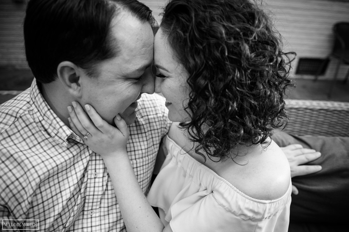 couples photographer maddie moree engagement