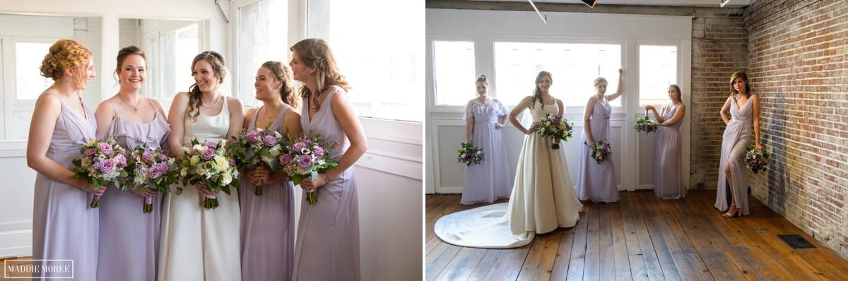 bridesmaids wedding party