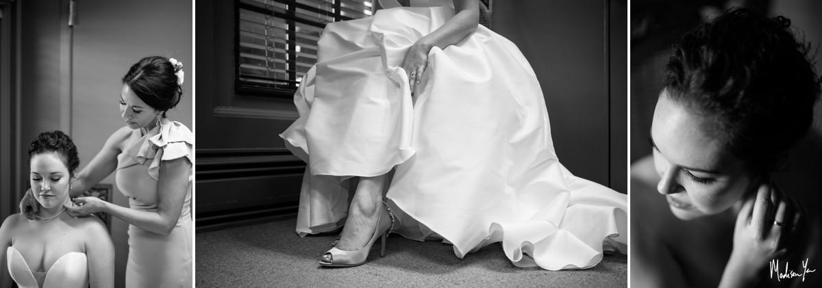 Bridal getting ready Maddie Moree