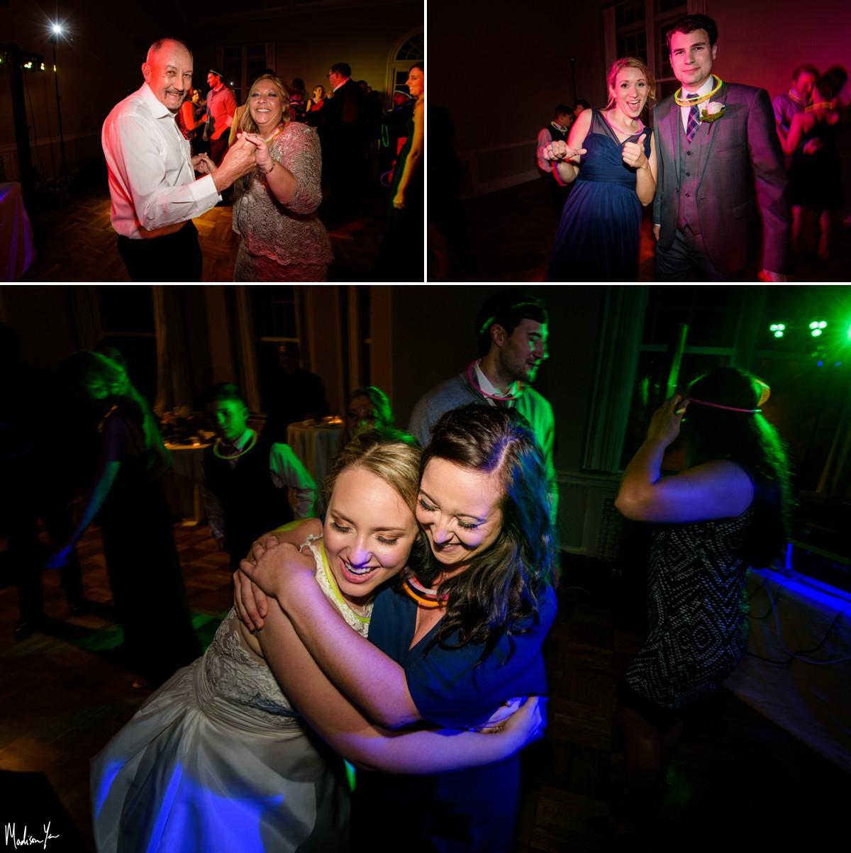 Pink Palace reception photos maddie moree