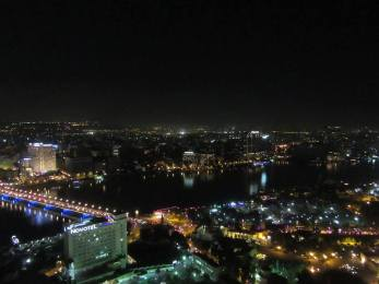 View from the top of Cairo Tower