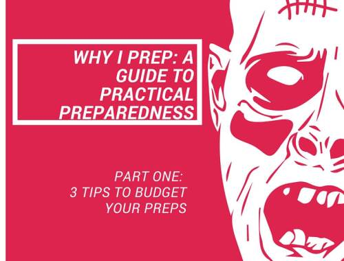 Practical Preparedness: 3 Tips to Budget Your Preps. Great ways to get more for your dollar when preparing for a natural disaster, power outage, or other emergency.