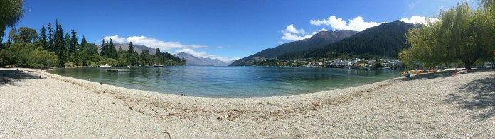 Queenstown Waterfront Pano