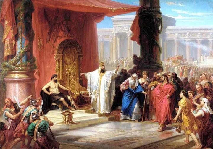 the-iron-worker-and-king-solomon-by-christian-schussele-1876-painting | Гадание по кругу царя Соломона - узнай ответы на все свои вопросы!