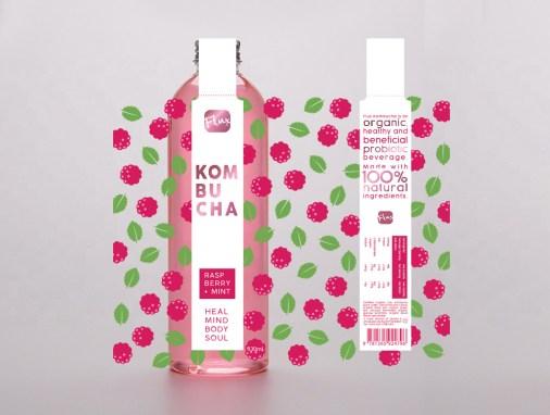 Kombucha Label