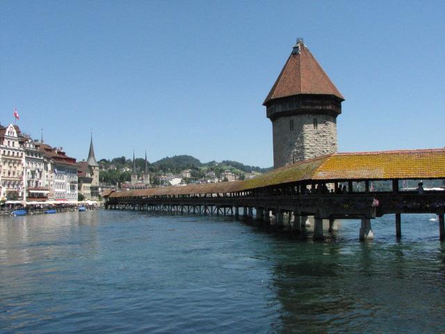 Lucerne's Kapellbrücke
