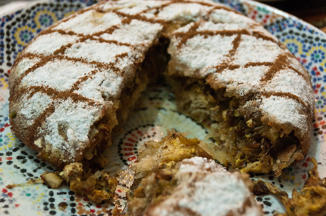 Traditional Pies from Around the World - Bisteeva or Pastilla