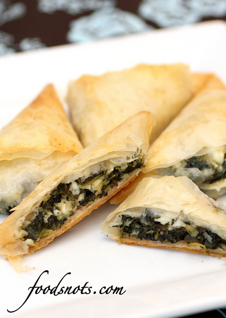 Traditional Pies from Around the World - Spanakopita